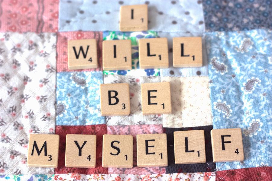 voglio essere me stesso